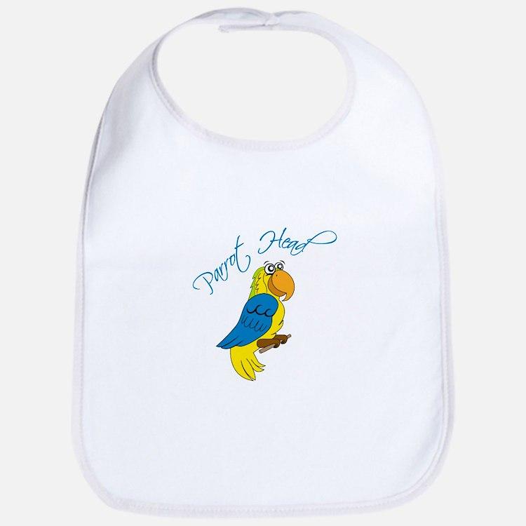 Parrot Head Bib