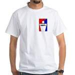 National Beer Pong League White T-Shirt