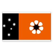 Northern Territory Rectangle Stickers