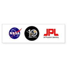 Cassini @ 10! (bumper) Bumper Bumper Sticker