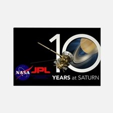Cassini @ 10! Rectangle Magnet Magnets