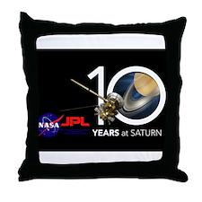 Cassini @ 10! Throw Pillow