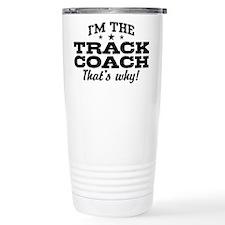 Unique Track and field Travel Mug