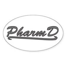 gray pharmd Decal