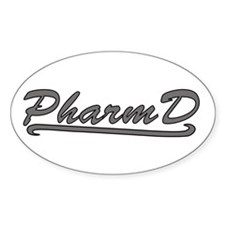 gray pharmd Stickers