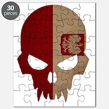 Polish Flag Skull Puzzle