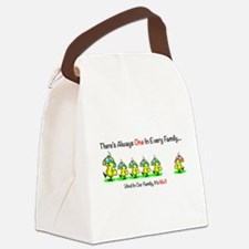 Theres One In Every Family Canvas Lunch Bag