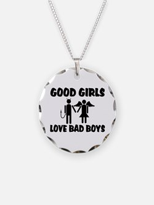 Good Girls Love Bad Boys Necklace