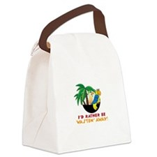Wastin Away Canvas Lunch Bag