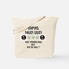 Vape to live Live to Vape Tote Bag