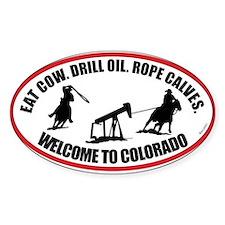 Colorado Team Roper Decal