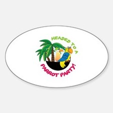 Parrot Party! Decal