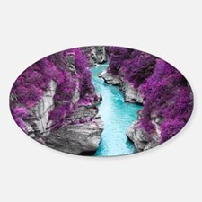 Purple Cliffs Decal