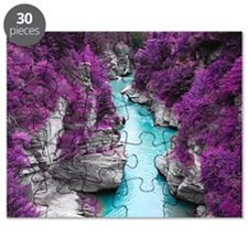 Purple Cliffs Puzzle