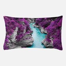 Purple Cliffs Pillow Case