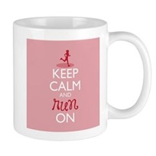 Keep Calm and Run On Mugs