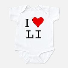 I Love LI Infant Bodysuit
