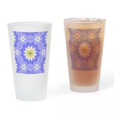 Lavender Blue Drinking Glass