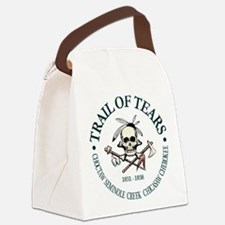 Trail of Tears Canvas Lunch Bag
