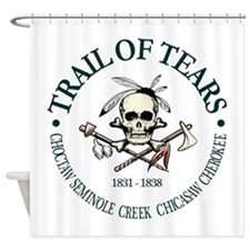 Trail of Tears Shower Curtain