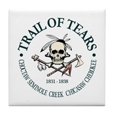 Trail of Tears Tile Coaster
