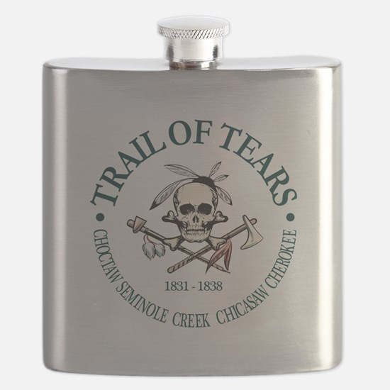 Trail of Tears Flask