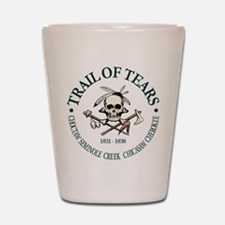 Trail of Tears Shot Glass