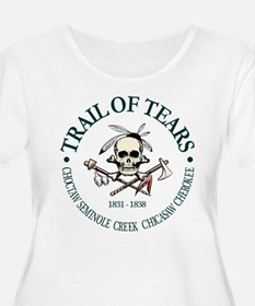 Trail of Tears Plus Size T-Shirt