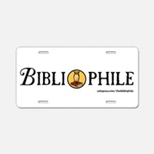 Cute Book lover Aluminum License Plate