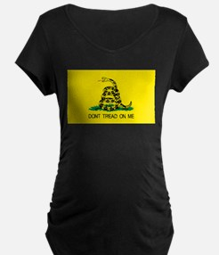 dont tread on me gifts Maternity T-Shirt