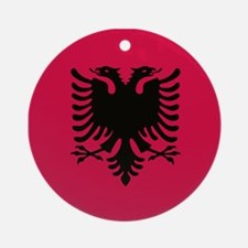 albanian flag Ornament (Round)