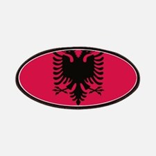 albanian flag Patches