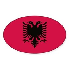 albanian flag Decal