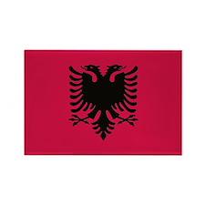 albanian flag Magnets