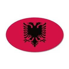 albanian flag Wall Decal