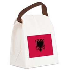 albanian flag Canvas Lunch Bag