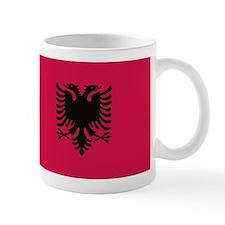 albanian flag Mugs