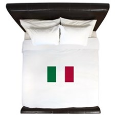 Italy Flag Italian Flag King Duvet