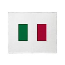 Italy Flag Italian Flag Throw Blanket
