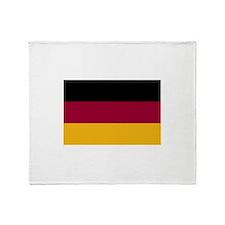 German Flag Gifts Throw Blanket
