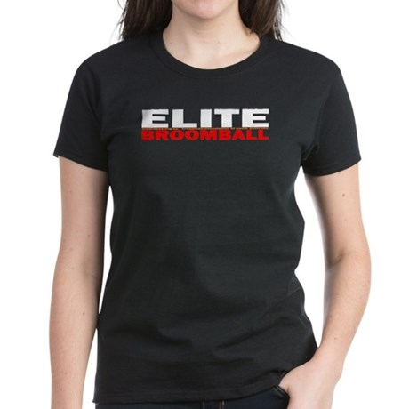 Elite Broomball Women's Dark T-Shirt