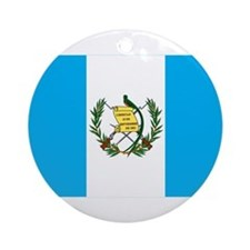 guatemalan Flag gifts Ornament (Round)