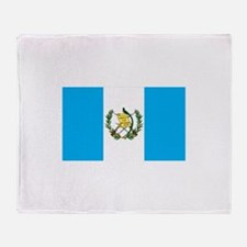guatemalan Flag gifts Throw Blanket