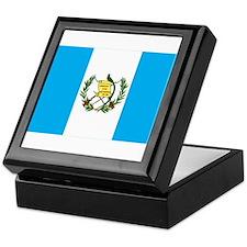 guatemalan Flag gifts Keepsake Box