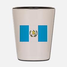 guatemalan Flag gifts Shot Glass