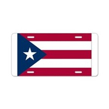 puerto-rico1 Aluminum License Plate