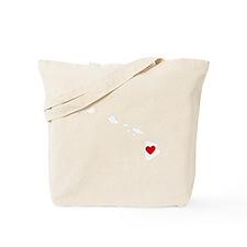Hawaii Heart Tote Bag
