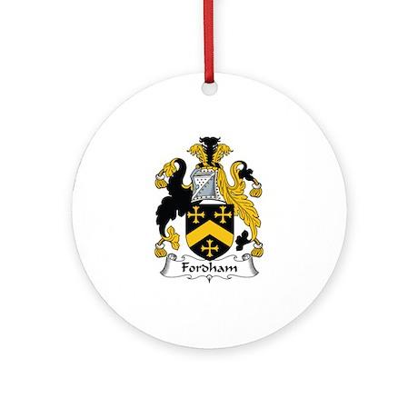 Fordham Ornament (Round)