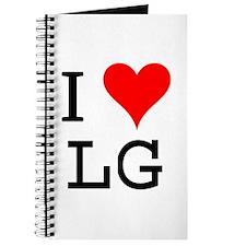I Love LG Journal