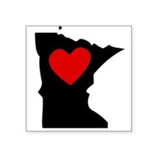Minnesota Heart Sticker